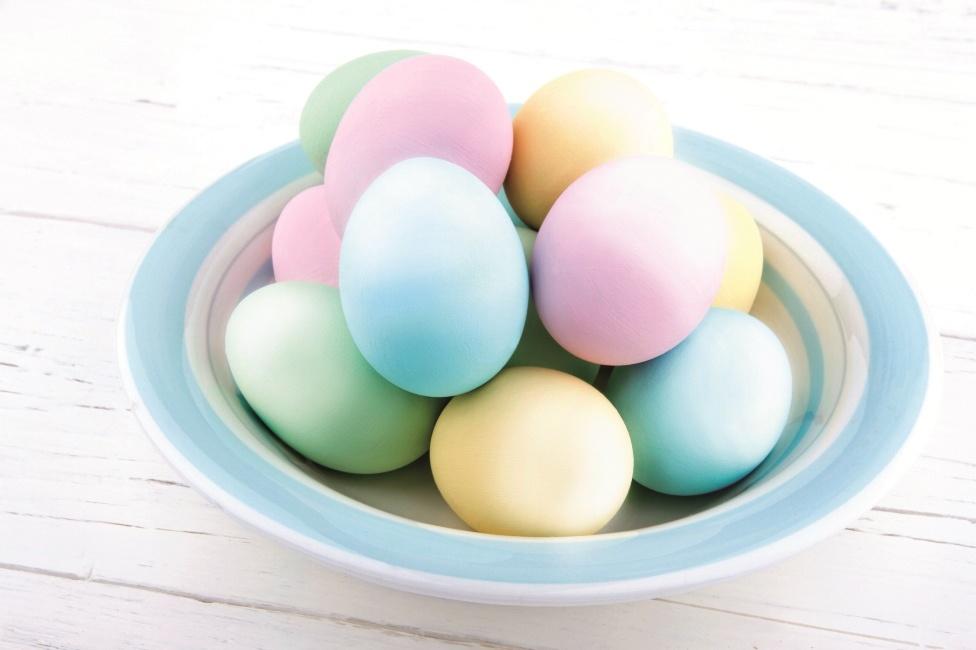Ombre tehnika bojenja jaja