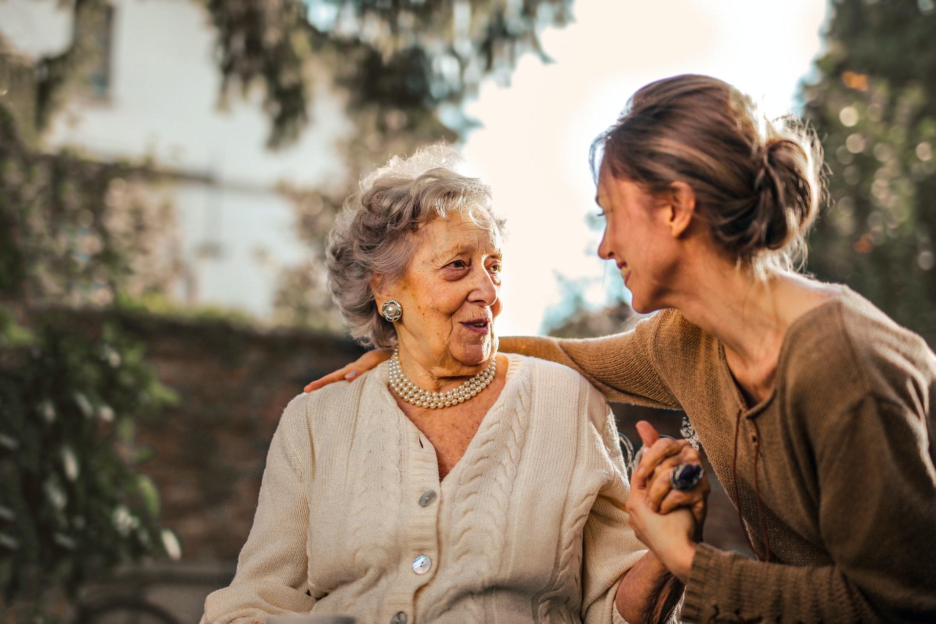 Alchajmerova bolest, briga o starijima